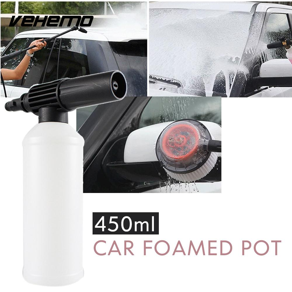 Snow Foam Lance With Adapter Adjust Car Foamer Wash Bottle Tube Pressure Washer Gun Connection Automobiles & Motorcycles Car Washer