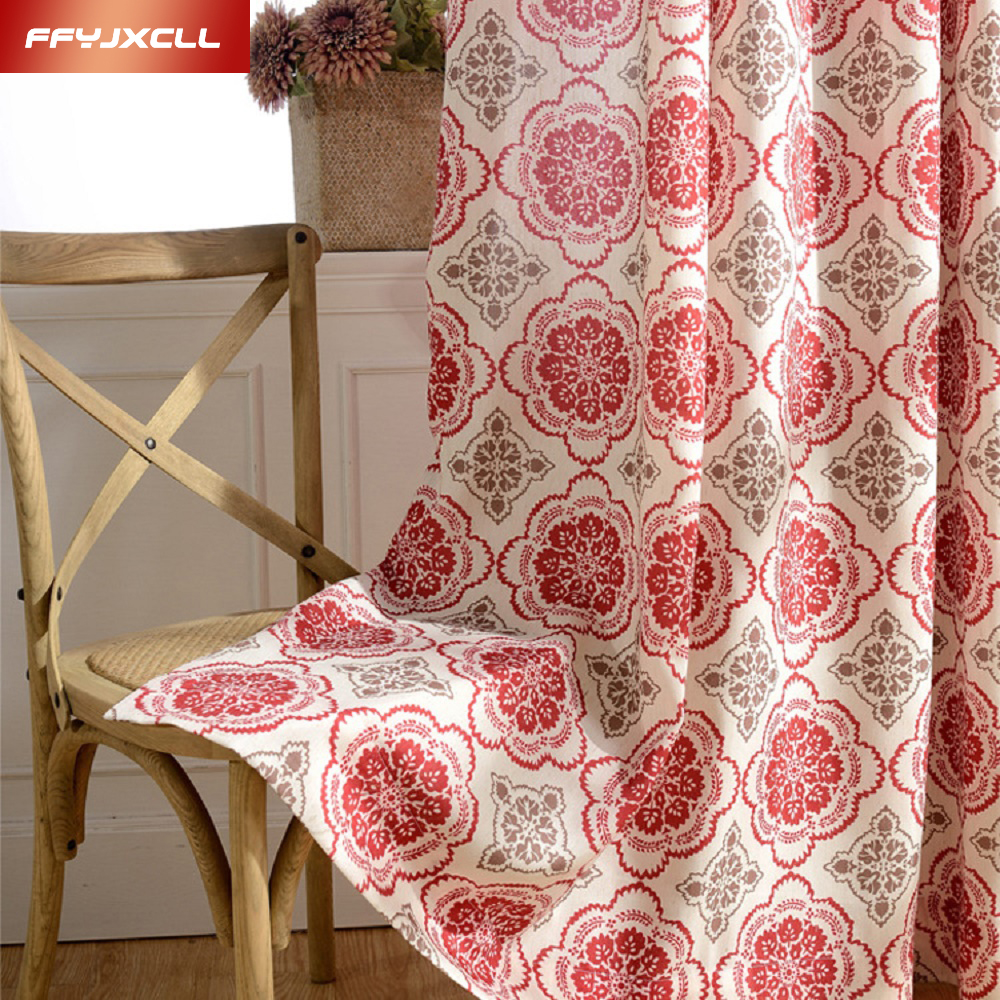 Red Curtains Living Room Popular Yellow Red Curtains Buy Cheap Yellow Red Curtains Lots