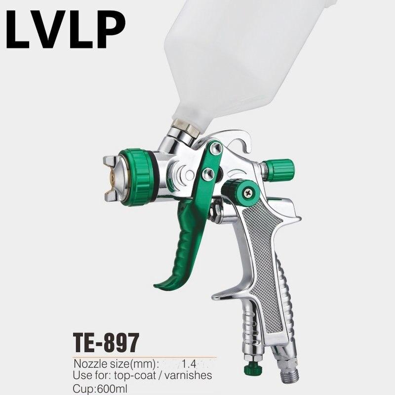 professional LVLP spray gun pintura en aerosol pneumatic pistols 1 4mm gravity type paint sprayer gun