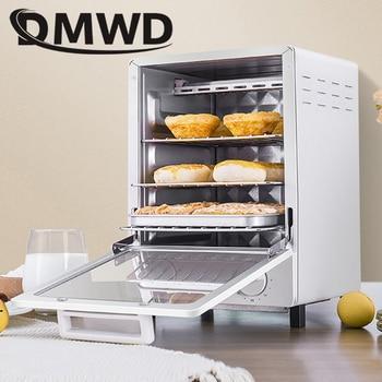 da2e4ebdde4 DMWD MINI toaster electric oven multifunction timer making biscuits bread  cake pizza Cookies baking machine 12L liter 800W EU US