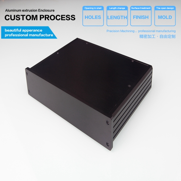 250*45-180mm(WxH-D) aluminum amplifi case/aluminum amplifier case for pcb new arrival gof p01 248 4x81 5x209 mm wxh d anodizing aluminum enclosure stereo case