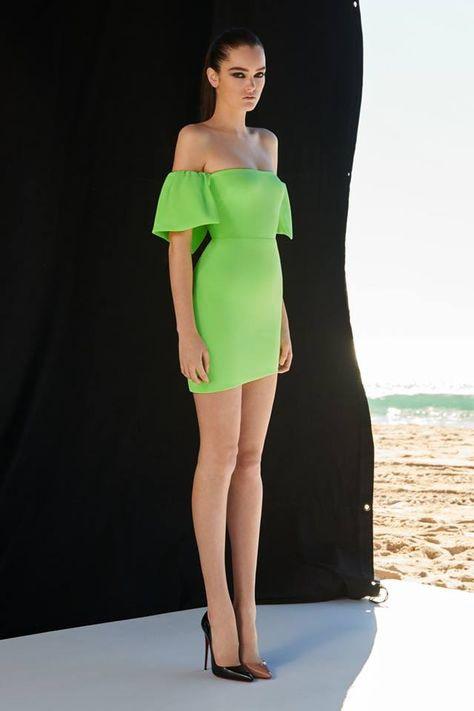 green elegant dress 2019 New Women slash neck short sleeve Vestidos Celebrity evening party bodycon bandage dresses