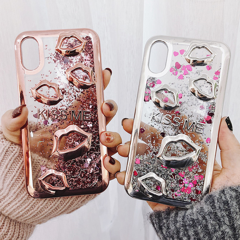 Case Custom iPhone 10 case A224 S9 S9 Red Lips iPhone XR Case Xs Max iPhone case Lips Kiss iPhone 7 plus 8 plus iphone 7 8 X Xs Case models for Samsung S8 S8