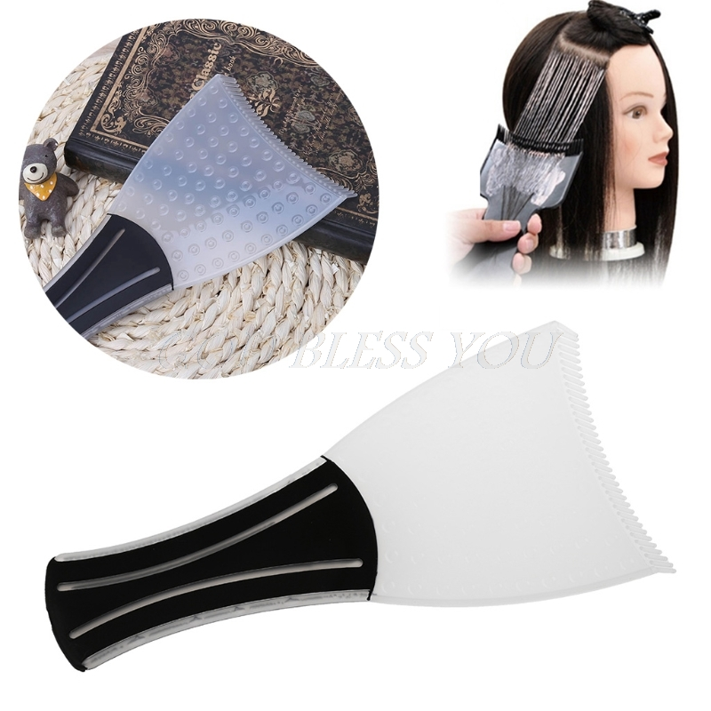 Hairdressing Pick Color Board Professional Hair Dye Brush Hair Coloring Comb