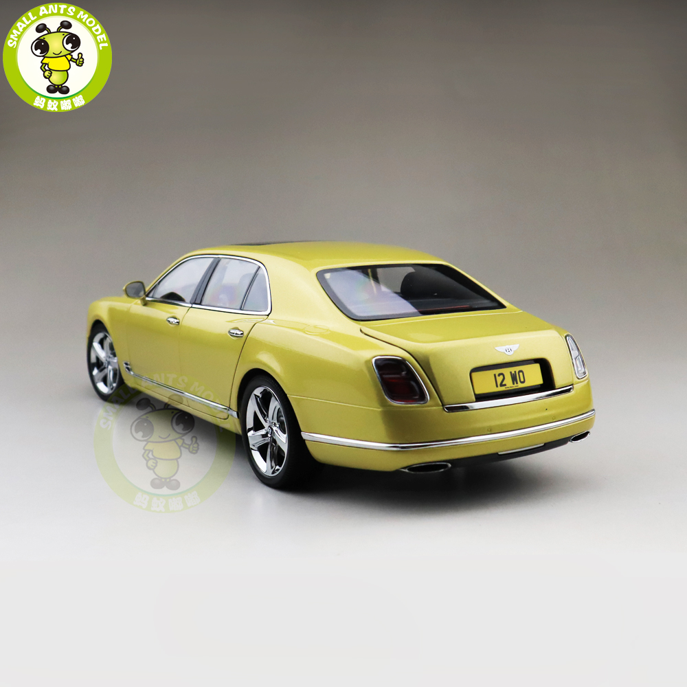 1/18 Almost Real Bentley Mulsanne Speed 2017 Julep Diecast Metal Model car Gift Collection Hobby