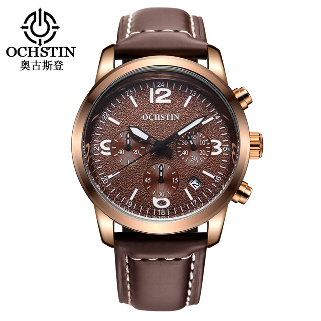 New Ochstin Watch Men Luxury Brand Date Chronograph Quartz Wrist Military Watches Montre Homme Relogio Special Offer Masculino