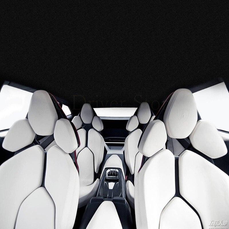 Siège de voiture de luxe Quatre saisons Auto 5 siège coussin moelleux Pour Porsche Cayenne SUV Cayman Technologie de voiture-style pad 13 couleur