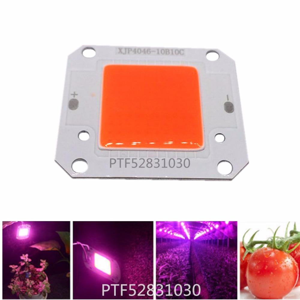 Купить с кэшбэком 12V 50W Full Spectrum 400-840NM LED COB chip, Integrated Smart IC Driver