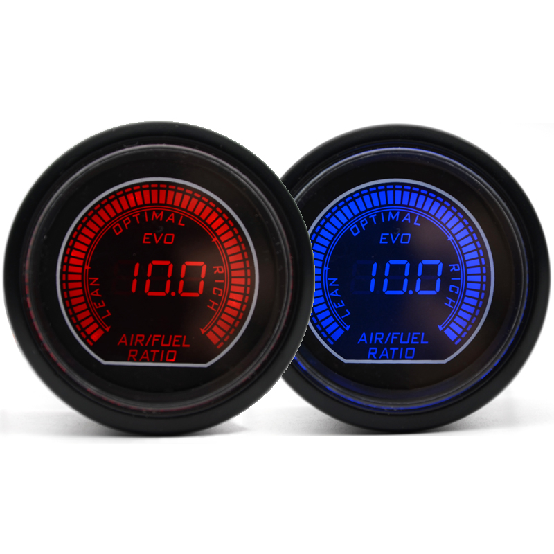 Back To Search Resultsautomobiles & Motorcycles Dragon Gauge Universal 2 52mm Air Fuel Ratio Gauge Blue/red Dual Led Color Digital Led Light Gauge Meter Auto Replacement Parts