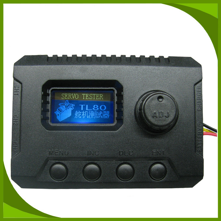 Multifunction LCD Servo Tester for Simulation Digital Robot Servo/Receiver/ESC/Gyro Testing 2-6S Lipo Programmable Tester