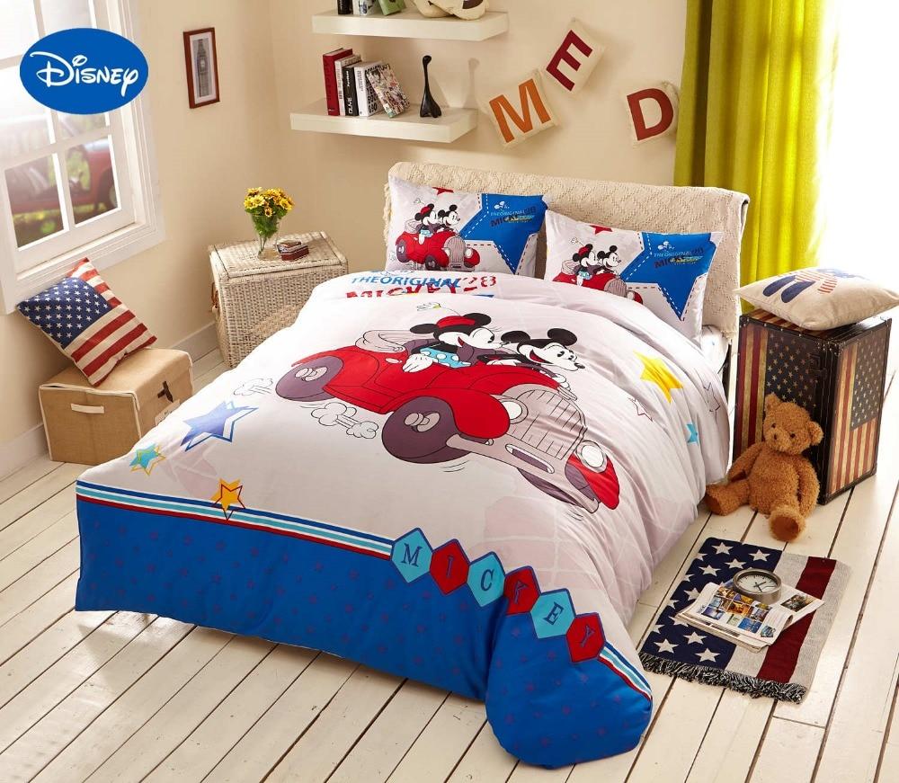 Disney cartoon topolino e minnie mouse da viaggio tessile biancheria da letto per ragazze home - Biancheria letto disney ...