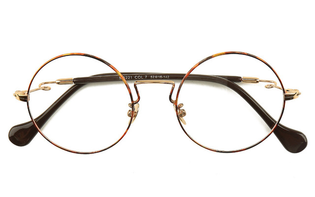 de25caba2b Agstum Round Metal Wire Vintage Clear Lenses Spectacles Myopia Glasses  Eyeglass