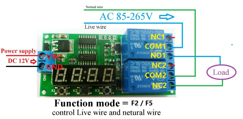 HTB1bBWoLXXXXXcxXpXXq6xXFXXXv aliexpress com buy dc 12v 2 channel multifunction delay timer 12v timer wiring diagram at readyjetset.co