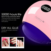 Ellwings 36W UV Lamp LED Nail Lamp Nail Dryer For All Gels Polish Sun Light Infrared Sensing 10/30/60/120s Timer For Manicure