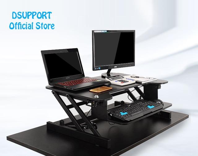 Easyup Height Adjustable Sit Stand Desk Riser Foldable