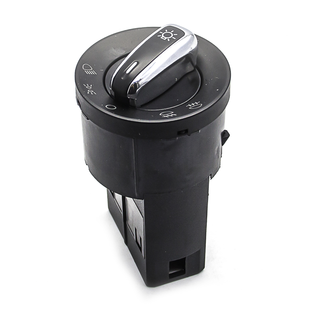 Auto Replace Parts for VW Headlight Switch New Chrome Head Light Control Mirrir Switches 3BD 941 531 3BD941531 Jetta Golf Bora