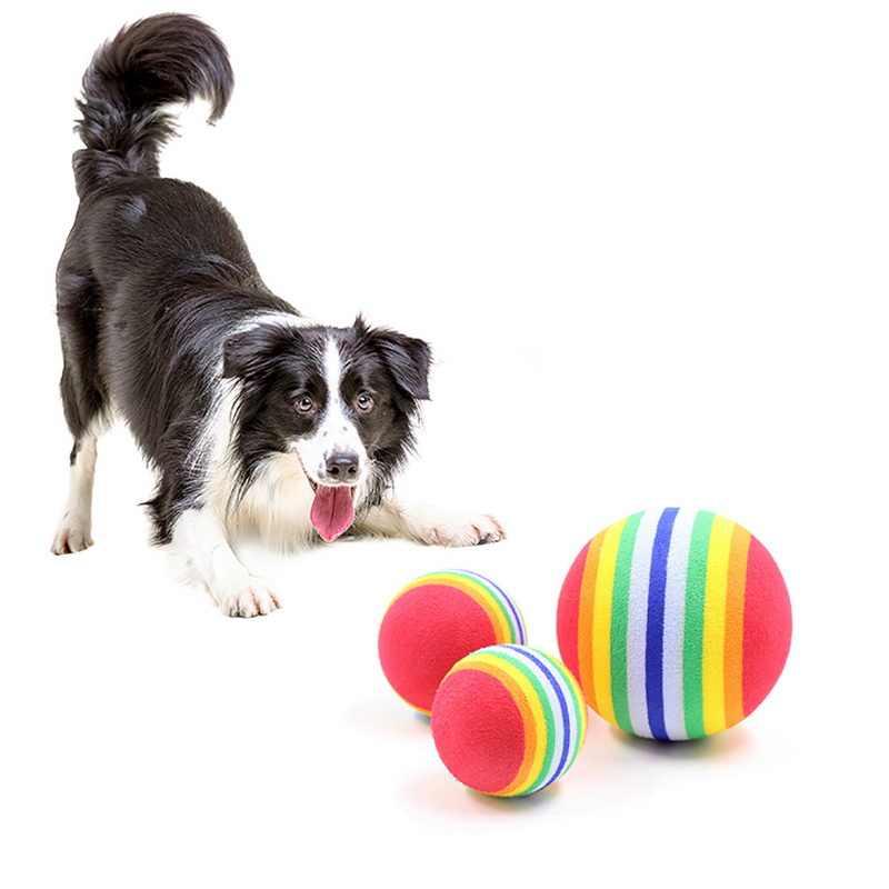 2019 Новая мода Забавный Лидер продаж игрушка для домашних собак Игрушки для котов 3,5 см красочные игровые мячи домашних животных продукты