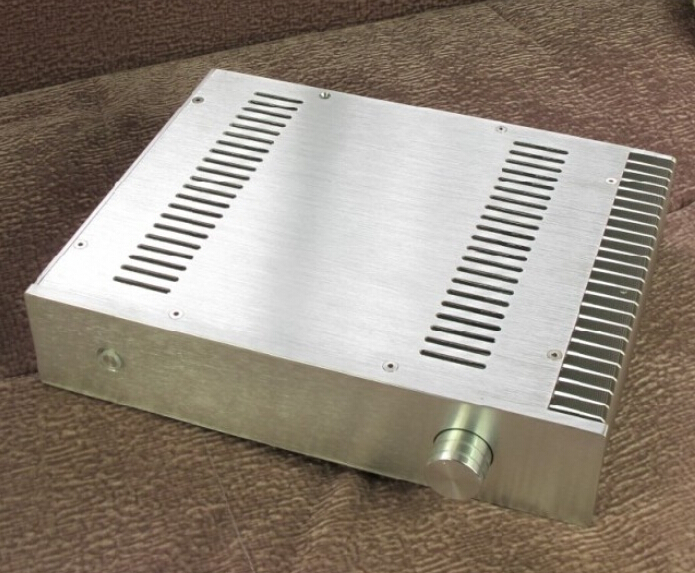 BZ3207B Full Aluminum Preamplifier DAC//Amplifier Chassis Case Box