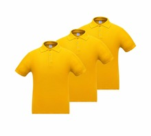 Mens Cotton Breathable Flexible POLO Shirts  Casual Plain Solid Color Overturned Collar Short Sleeve S-XXXL (pack of 3)
