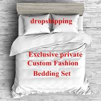 NEW 3D Fortnit Game Bedding Sets Printed pillowcases Duvet Cover Set Customize Dropshipping
