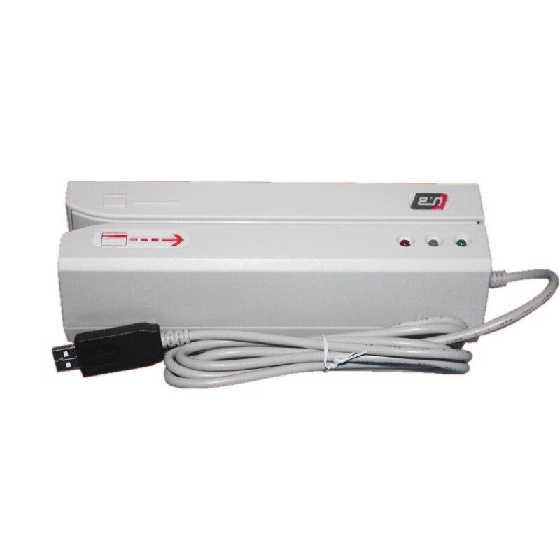 Lecteur de carte à bande magnétique USB Hico 2750oE Double piste