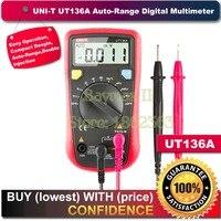 UNI-T ut136a Авто Диапазон удержания данных DMM Цифровой Мультиметры с частотой рабочий цикл Тесты multimetro LCR метр