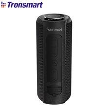 Tronsmart T6 Plus Bluetooth динамик 40 Вт TWS портативный динамик IPX6 Водонепроницаемый глубокий бас с функцией Siri power Bank SoundPulse