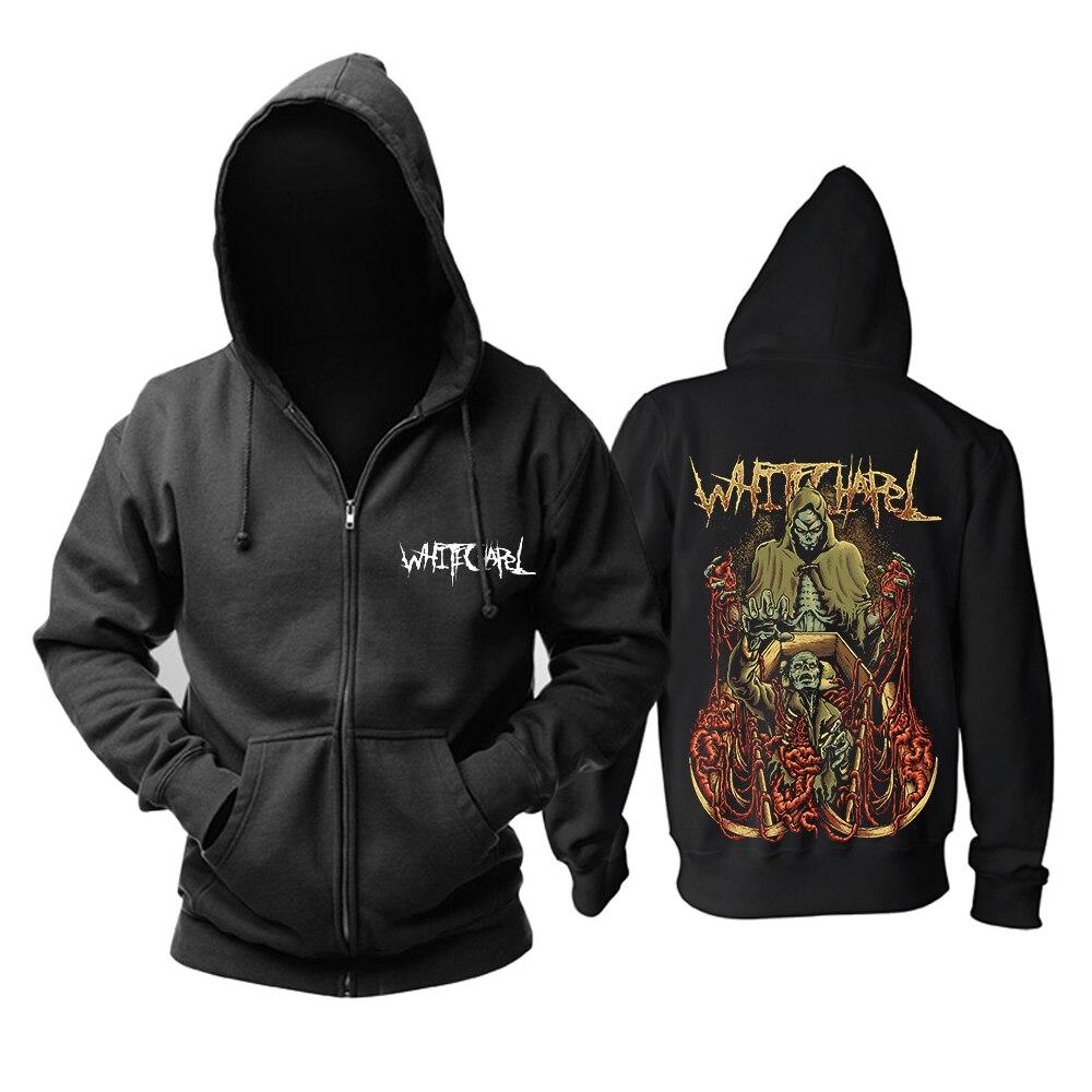 Bloodhoof Whitechapel band Mainstream rock death metal Heavy metal hoodie    Asian Size