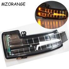 Widok z tyłu lustro włączony kierunkowskaz dla Mercedes Benz W251 W166 W463 X166 GL/ML/R/G klasy lusterko wsteczne kierunkowskaz w lusterku lampka migacza