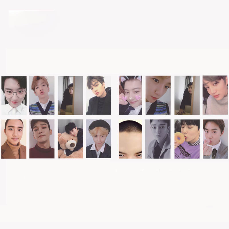Jewelry Findings & Components Kpop Exo For Life Christmas Winter Special Album Photo Card K-pop Self Made Paper Cards Autograph Photocard