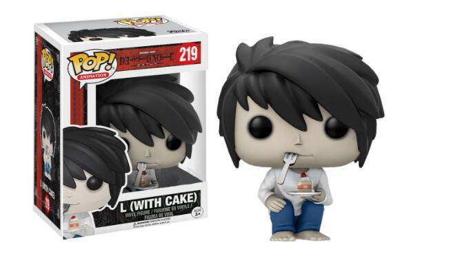 Death Note L Nendoroid Eating