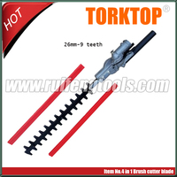 brush cutter strimmer hedge trimmer attachment 26mm 9 teeth free shipping