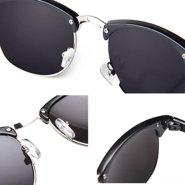 a20dfbd681764 placeholder 2019 Clássico de Alta Qualidade Óculos Polarizados Homens óculos  de Sol Das Mulheres Designer De Marca