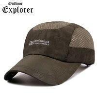Spring Summer Baseball Cap Mens Army Soldier Tactical Sniper Snapback Mesh Hats Fishing Camping Hunting Traveling