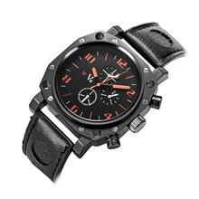2015 nueva V6-0025 lujo ocio reloj de los hombres, domineering hombre de moda reloj de pulsera, reloj de cuarzo de negocios, marcas de relojes