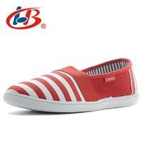 LIBANG Soft Canvas Women Flats Comfortable Female Summer Shoes Brand Flat Shoes Women Shallow Designer Shoes