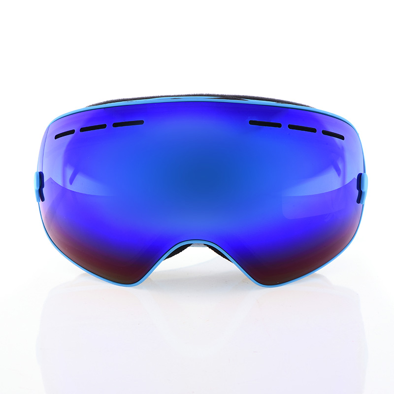 Prix pour 2016 NOUVEAU Ski Lunettes Double-couche anti-buée Ski Miroir UV400 ski Lunettes Grand Sphérique de Neige En Plein Air de Ski lunettes Snowboard