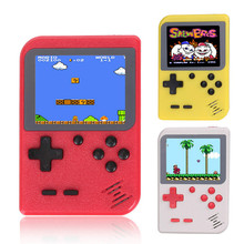 лучшая цена Vacusg Portable Mini Handheld Game Console Built-in 168 Classic Games 8-Bit 2.8 Inch Color LCD Kids Retro Game Player Z2