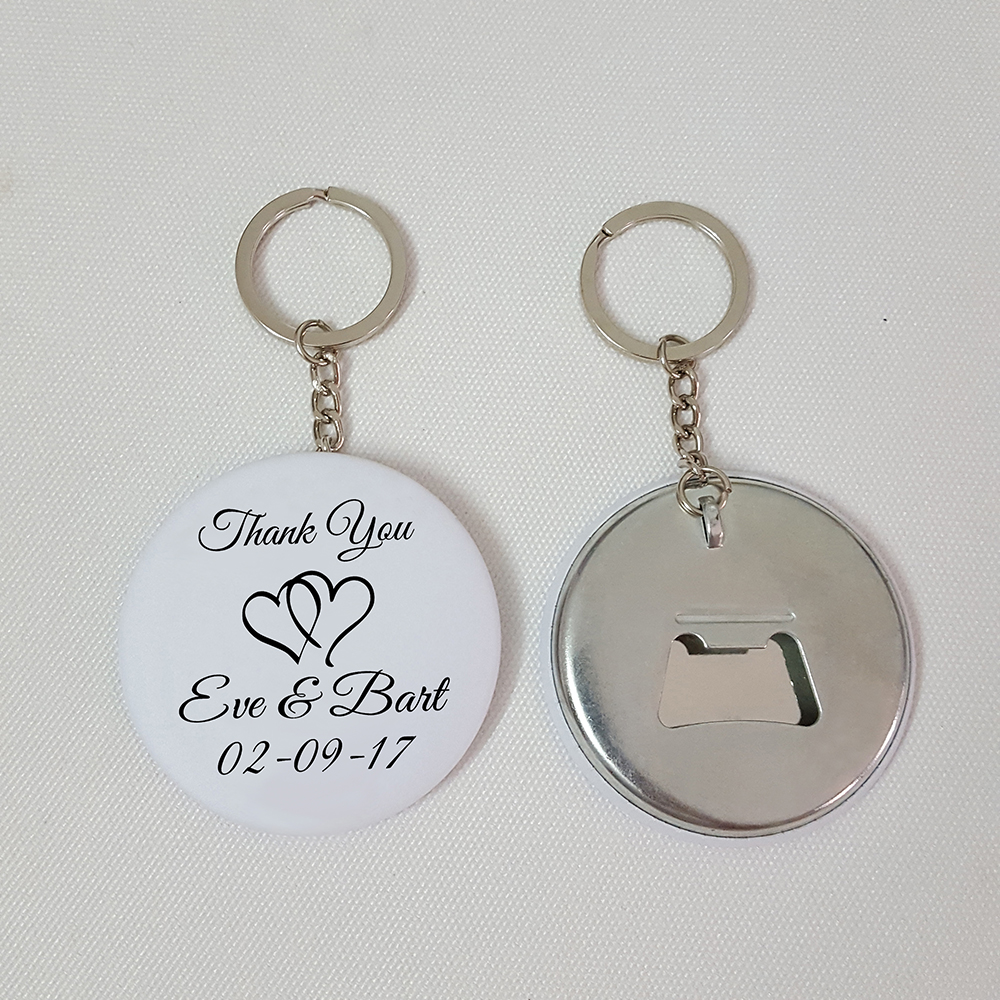 Personalized Wedding Favor and Gift Custom Printed Bottle Opener ...