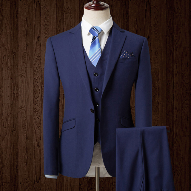 HB076 nueva boda del otoño azul marino trajes chaqueta de los hombres de  los hombres de 3ebaf0d7645f