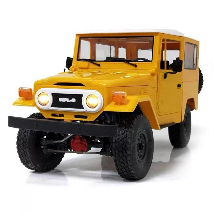 WPL C34 1/16 RC voiture tout-terrain escalade RC voitures RTR/KIT Version 4 WD voiture sur chenilles 2.4 GHz voiture télécommandée sans fil jouet pour enfants