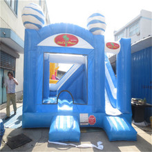 high quality inflatable household bouncer,kids inflatable playground with CE/UL blower YLW-bouncer 187