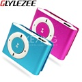 Portable Metal Clip MP3 Player with 8 Candy Colors No Memory Card Music Player with TF Slot