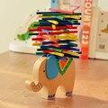 Free Shipping!Baby Toy Animal Wooden Building Blocks  Balance Toy Camel/Elephant Design Block Toys Gift