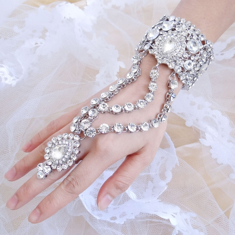 Bella Fashion Luxury Teardrop Bridal Bangle Ring Set Austrian Crystal Bracelet Ring Set Wedding Accessories Party Jewelry Gift 68pcs boxed 2p dual wire spring loaded terminal block connector wire no screw