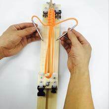 Браслет инструмент для вязания DIY деревянный Паракорд джиг браслет производитель