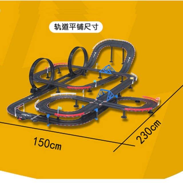 6f7d7851e placeholder Crianças escala 1/43 modelo de carro de trilho ferrovia luzes  grande elétrico controle remoto