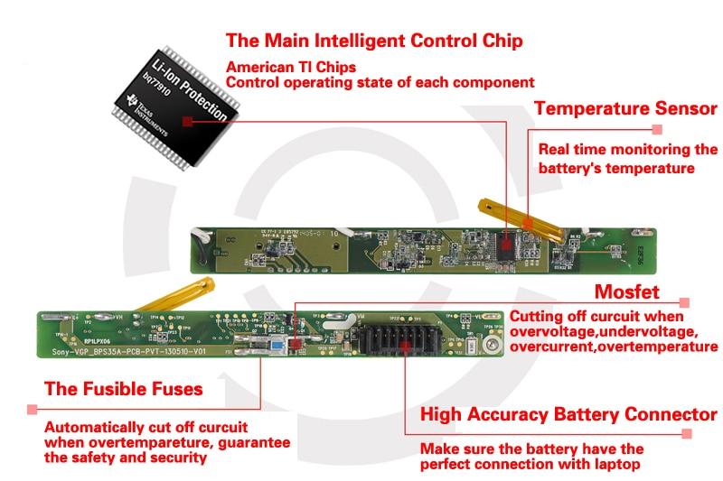 KingSener Corée Cellulaire A41-X550E Batterie D'ordinateur Portable pour ASUS X450 X450E X450J X450JF X751M X751MA X751L X750JA A450J A450JF A450E - 6