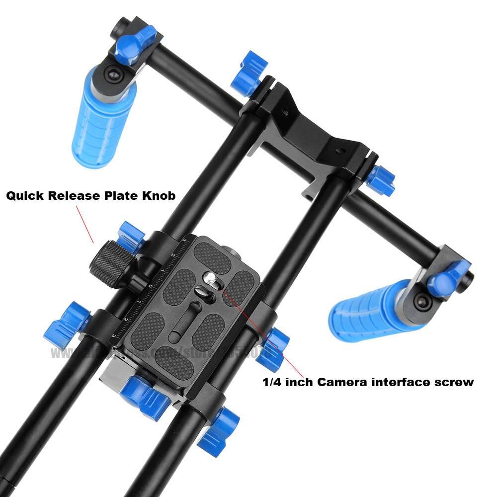 Komplet filmov iz serije DSLR Film Film Podpora za ramenski nosilec - Kamera in foto - Fotografija 2