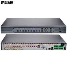 GADINAN AHD 32Channel 1080N CCTV DVR 32CH ONVIF AHDNH 1080N Surveillance Security DVR P2P Cloud Motion Detect 16CH Audio Input